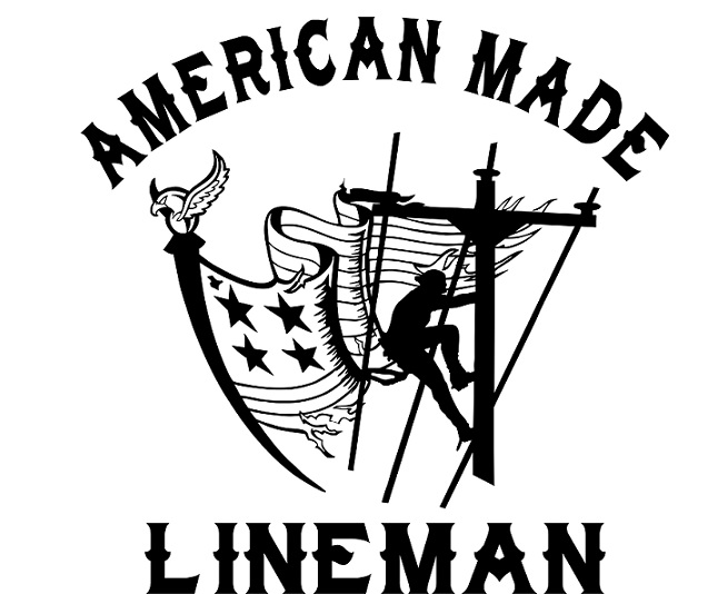 american made lineman vinyl decal red barn clipart free red barn clip art for kids