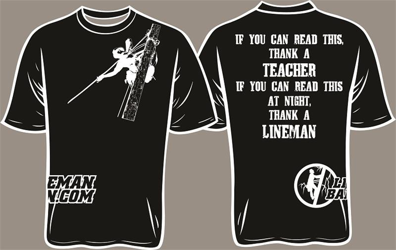 Thank A Lineman Shirt