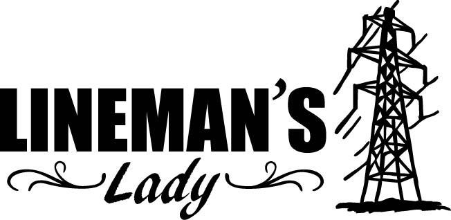 Transmission Lineman Stickers Lineman's Lady Transmission