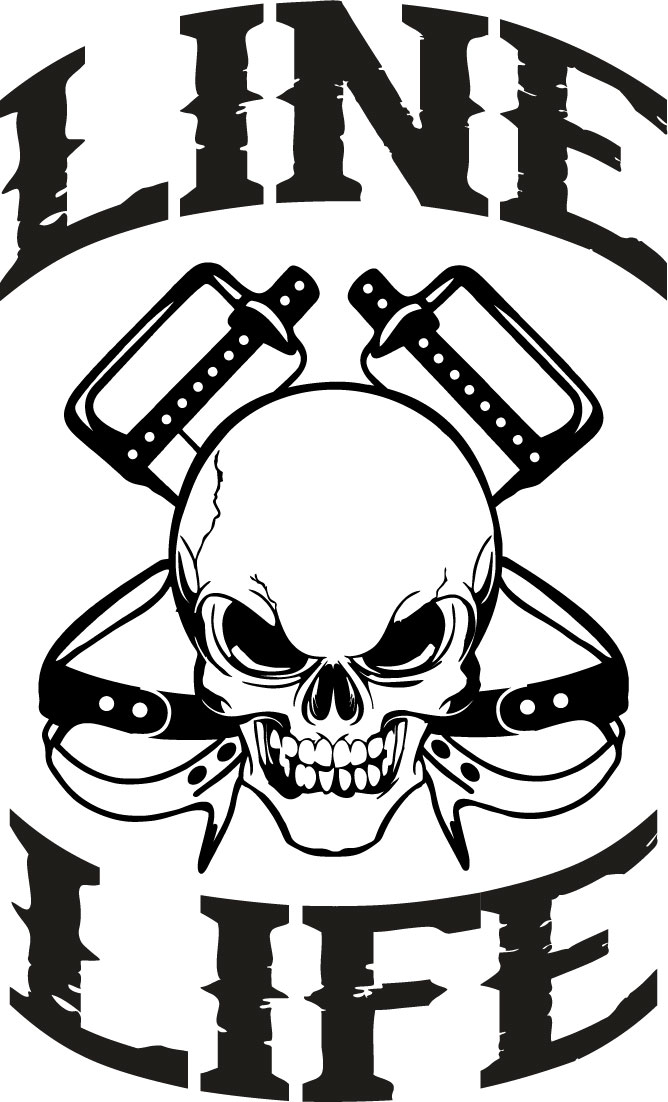 line life skull decal clip art hats free clip art hats off to you